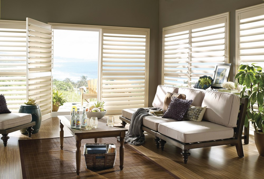 LUXAFLEX®  Newstyle®  Timber and Polyresin Shutters