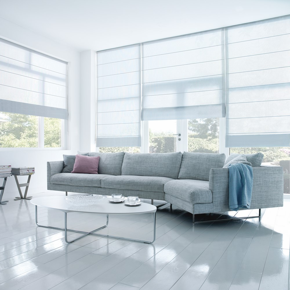 LUXAFLEX® Roman Shades Collection
